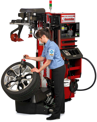 HUNTER - Revolution Tire Changer